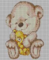Набор Алмазной мозаики   АВ 4032 Мишки