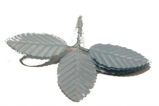 Лист розы декоративный голубой 10шт