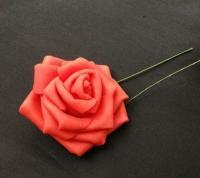 Роза на ножке 7,5см  красная
