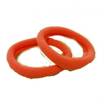 Резинка для волос  3см  (50шт) оранжевая