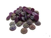 Серединки для канзаши  хамелион   фиолетовый  50шт