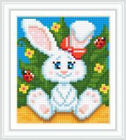 Набор Алмазной мозаики АВ 5075 Кролик  полная зашивка