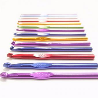 Крючок для вязания металлический   №4