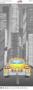 Вышивка бисером Пано ПМ 4038 Нью-йорк  (полная зашивка)