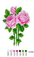 Набор вышивки нитками А5 062 Цветок