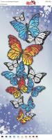 Вышивка бисером Пано ПМ 4061 Бабочки (частичная зашивка)