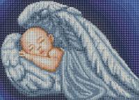 Набор Алмазной мозаики  АВ 3061 Ангел  (полная зашивка)