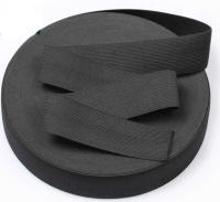 Резинка для одежды 2см черная