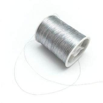 Нить люрикс серебро  упаковка 10шт