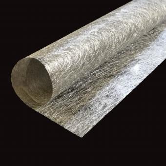 Сизаль листовой 55см*60см  серебро  упаковка 20 шт