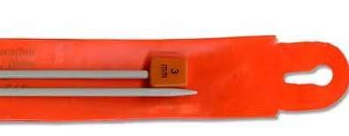 Спица для вязания прямая №3,5   Упаковка 12 шт