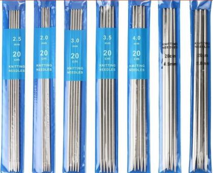 Спица для вязания носочная (чулочная)  5 шт  №2,5