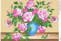 Вышивка бисером СВ 2007 Розы полная вышивка