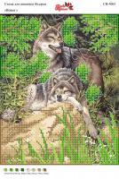 Вышивка бисером СВ 4061 Волки