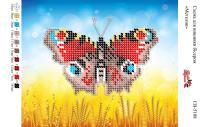 Вышивка бисером СВ 5108 Бабочка