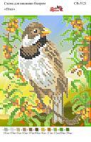 Вышивка бисером СВ 5121 Птичка
