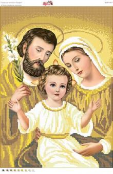 Вышивка бисером СВР 2027 Святое семейство