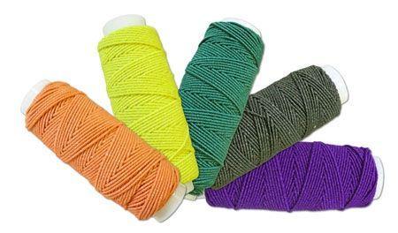 Нитка-резинка цветная (шляпная резинка)  упаковка 10шт