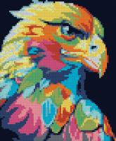 Набор Алмазной мозаики   АВ 4053 Орел  полная зашивка