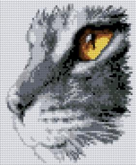 Набор Алмазной мозаики   АВ 4045 Кошка полная зашивка