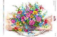 Вышивка на канве  БК 3021 Живі квіти
