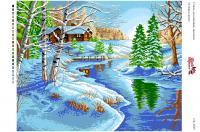Вышивка на канве  БК 3025 Сніжна зима