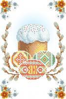 Вышивка бисером СВР 4231 Пасхальная салфетка