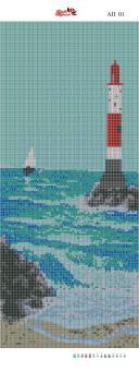 Набор Алмазной мозаики  Пано  АП 01 (полная зашивка)