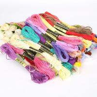 Нитка улине для вышивания 100 шт., цветная